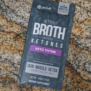 Pruvit Better//Broth - Keto Thyme flavor